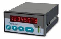 Indicador SSI duplo de 8 dígitos com saída analógicos IA330