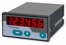 Indicador SSI com 2 relés e interface RS232 / RS485 IX342