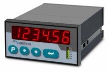 Medidor de frequência duplo de 6 dígitos com saída analógica SA340