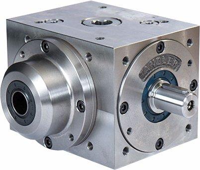 Caixa de engrenagem com eixo oco de entrada da Tandler GmbH