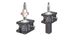Macacos mecânicos da série ZE - R e S - fuso trapezoidal
